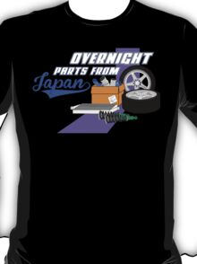 Overnight Parts From Japan T-Shirt