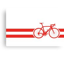 Bike Stripes Austria Canvas Print