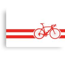 Bike Stripes Austria Canvas Print
