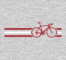 Bike Stripes Austria v2 One Piece - Long Sleeve