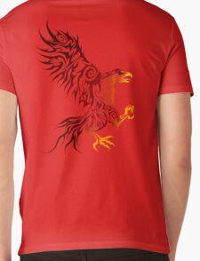 Shadey Hawk Mens V-Neck T-Shirt