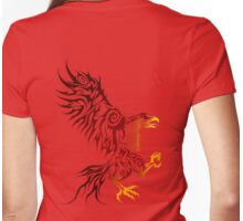 Shadey Hawk Womens Fitted T-Shirt