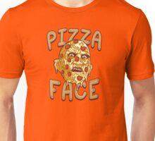 Pizza Face Unisex T-Shirt