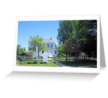 Trombley Centre House Greeting Card