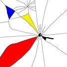 Mondrian cracked glass by Michael Birchmore