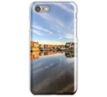 Down by the Shore, Leith in Edinburgh iPhone Case/Skin