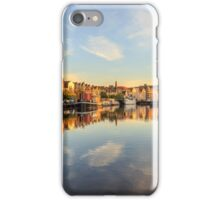 Leith Skyline at the Shore, Edinburgh iPhone Case/Skin