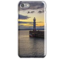 Newhaven Harbour at Dusk iPhone Case/Skin