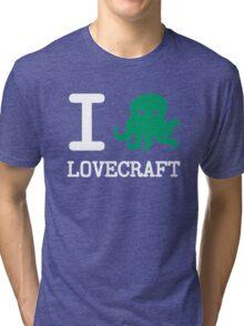 I ❤️  Lovecraft Tri-blend T-Shirt