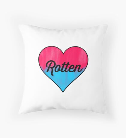 Rotten Throw Pillow