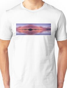 Red & White Glow. Exclusive Original Surreal and Abstract  Photo Art. Unisex T-Shirt