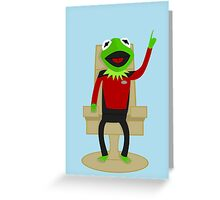Jean Luc Pikermit Greeting Card