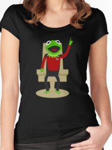 Jean Luc Pikermit Women's Fitted Scoop T-Shirt