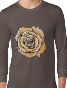 Beautiful rose flower Long Sleeve T-Shirt