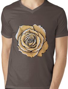 Beautiful rose flower Mens V-Neck T-Shirt
