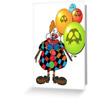 sICKO tHE gOTHIC hILL CLOWN Greeting Card