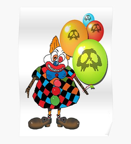 sICKO tHE gOTHIC hILL CLOWN Poster