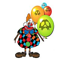 sICKO tHE gOTHIC hILL CLOWN Photographic Print