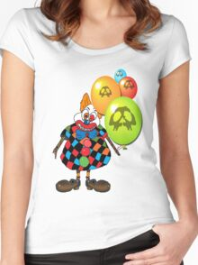 sICKO tHE gOTHIC hILL CLOWN Women's Fitted Scoop T-Shirt