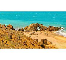 Aerial View Pedra Furada Jericoacoara Brazil Photographic Print