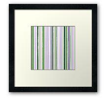 Seamless pattern of vertical brush strokes. Framed Print