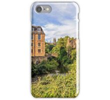Dean Village, Edinburgh iPhone Case/Skin