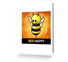 """BEE Happy"" POOTERBELLY Greeting Card"