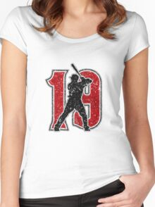 19 - Votto-matic (vintage) Women's Fitted Scoop T-Shirt