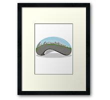 Cloud Gate (The Bean) Framed Print