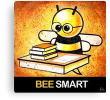 """BEE Smart"" POOTERBELLY Canvas Print"