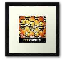 """BEE Original"" POOTERBELLY Framed Print"