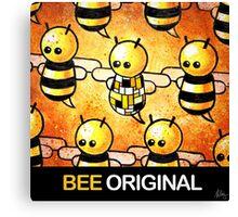 """BEE Original"" POOTERBELLY Canvas Print"