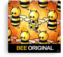 """BEE Original"" POOTERBELLY Canvas Print"