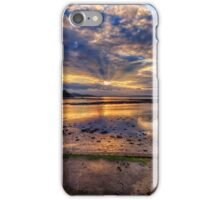 Cramond Beach at Sunset iPhone Case/Skin