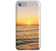 Sunrise over Portobello Beach iPhone Case/Skin