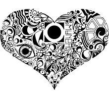 Full Heart Photographic Print