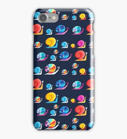 Graphic ornament colorful snail iPhone Case/Skin