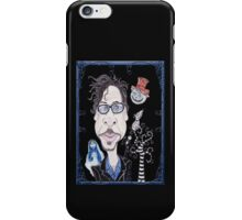 Dark Gothic Fantasy Movies Caricature Drawing iPhone Case/Skin