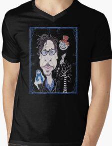 Dark Gothic Fantasy Movies Caricature Drawing T-Shirt