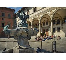Fountains of Firenze Photographic Print