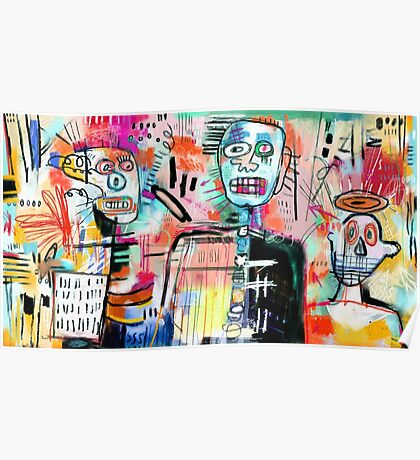 We are Still Philistines, After Basquiat Poster