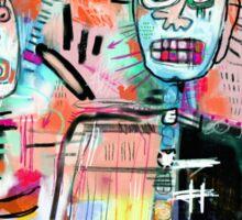 We are Still Philistines, After Basquiat Sticker
