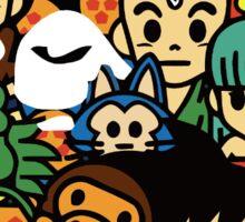 BAPE x Dragon Ball Sticker