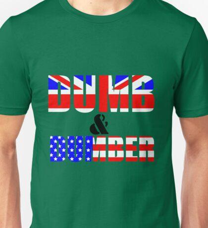 USA & UK a race to the bottom Unisex T-Shirt