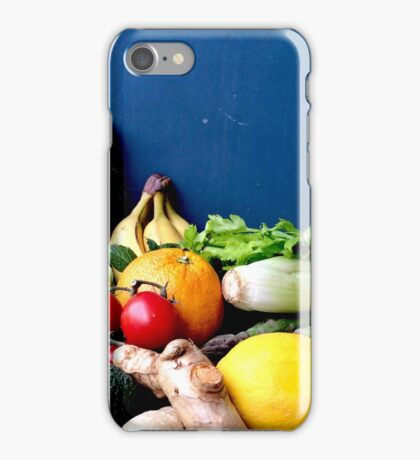 Raw Fruits And Vegetable Still Life iPhone Case/Skin