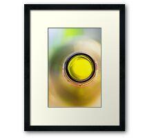 A wonderful wine whirl Framed Print