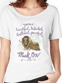 Beautiful musk ox Women's Relaxed Fit T-Shirt