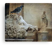 The boar Canvas Print