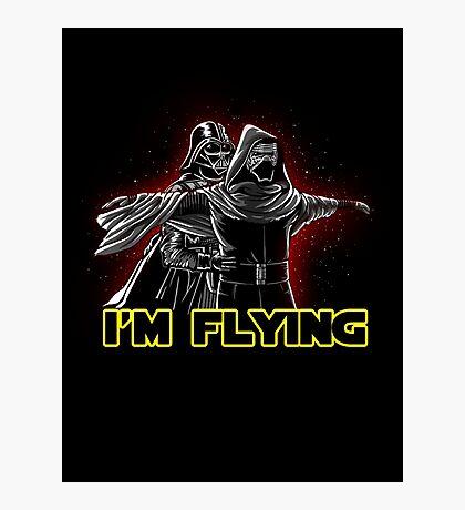 I'm flying Photographic Print