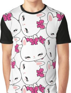 Cute little bunny pattern Graphic T-Shirt